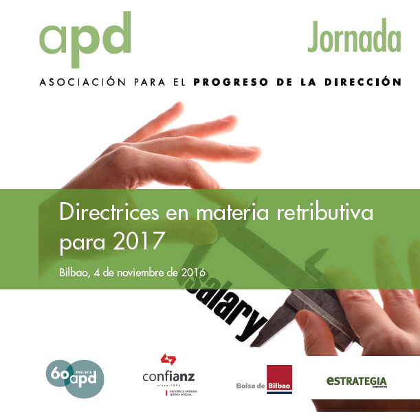 Directrices en materia retributiva para 2017