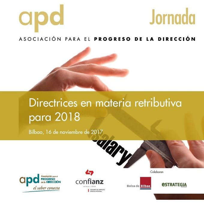 Directrices en materia retributiva para 2018